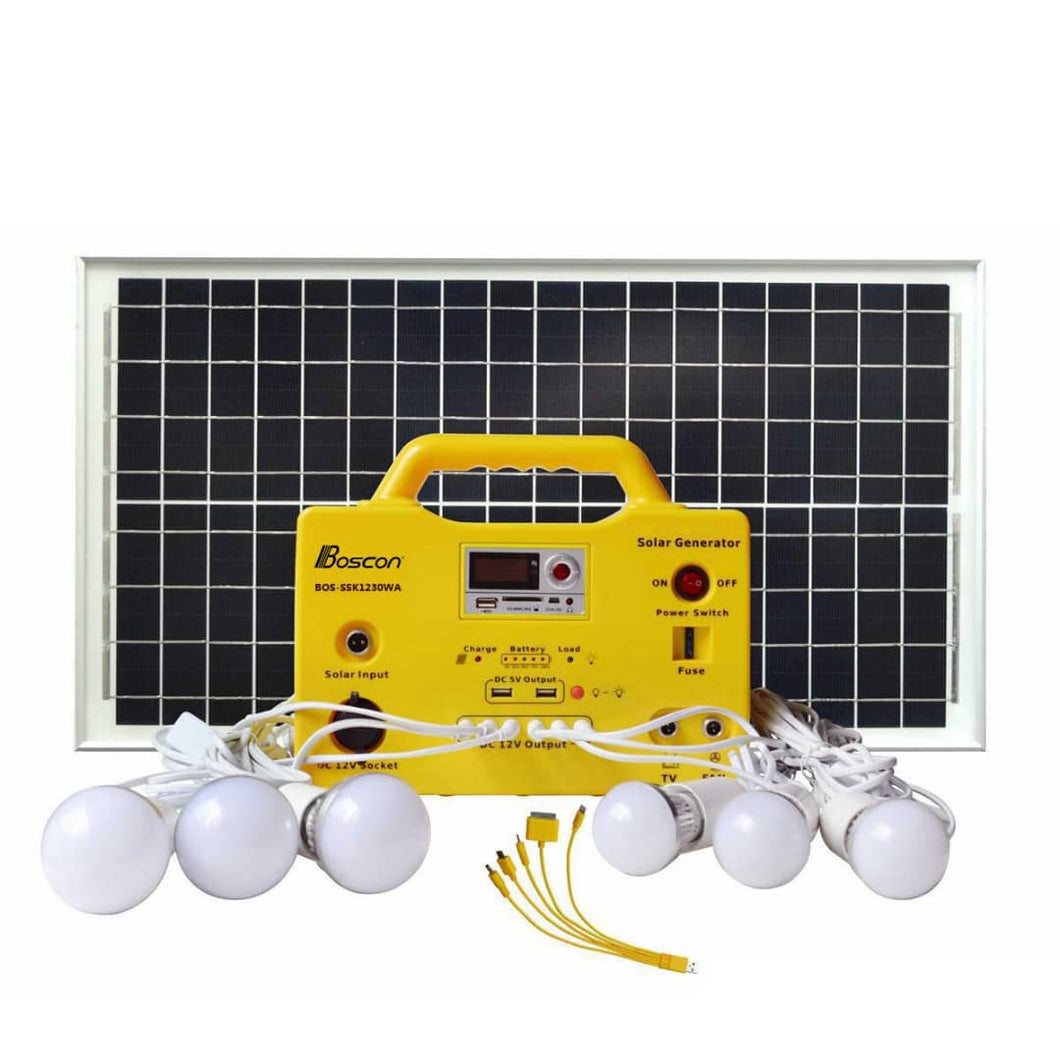 Portable Solar Lighting Systems