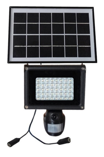 Solar PIR Light Camera DVR