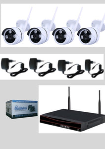 4 Channels Surveillance CCTV