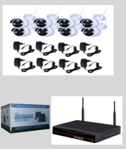 8 Channels Surveillance CCTV