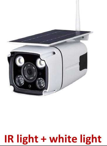 SOLAR IP CAMERA AND LIGHT
