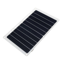 Load image into Gallery viewer, 10W 6V 1.7A Portable USB Solar Panel Solar Power Bank W/ Ring Binder Eyelet