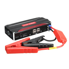 Load image into Gallery viewer, 68800mAh 12V 4USB Multi-Function Car Jump Starter Power Bank Rechargable Battery