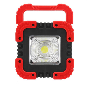 100W USB Solar LED Work Light Rechargeable Emergency Flood Lamp