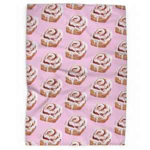 Sweet Tooth Tea Towel With Trim