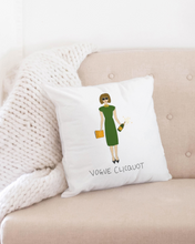 Load image into Gallery viewer, Vogue Clicquot Throw Pillow Case