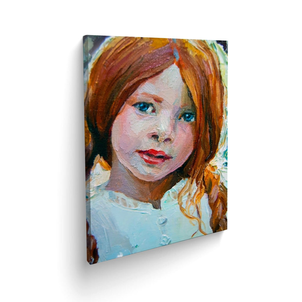 Cuadro Canvas Charming Little Girl Abstracto