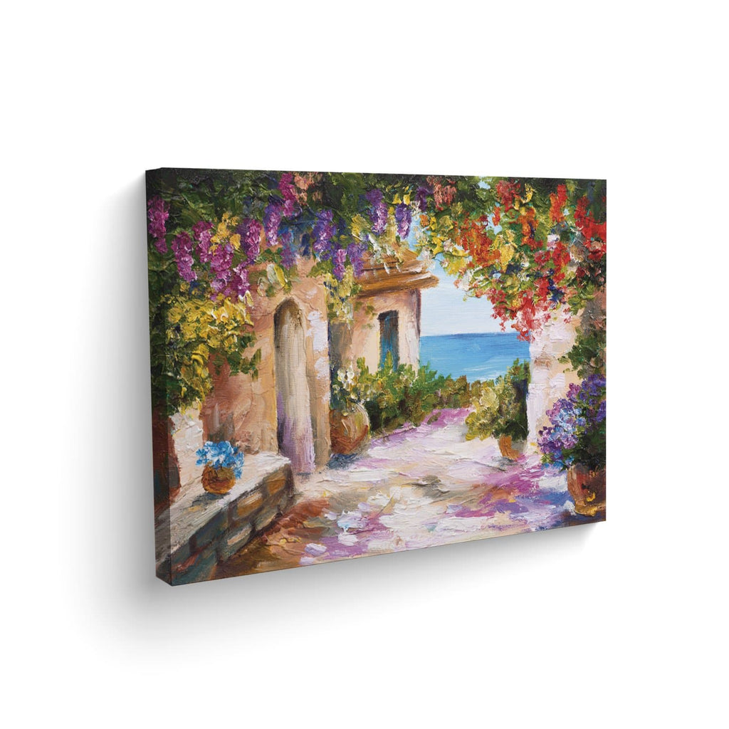 Canvas Pasillo Flores