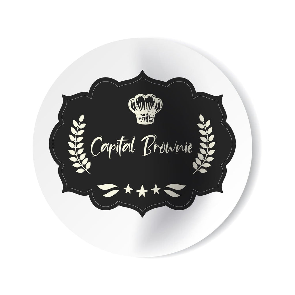 Stickers Capital Brownie Personalizados