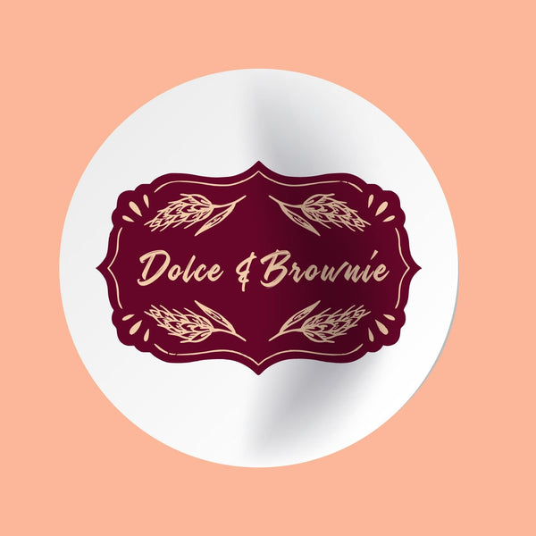 Stickers Dolce & Brownie Personalizados