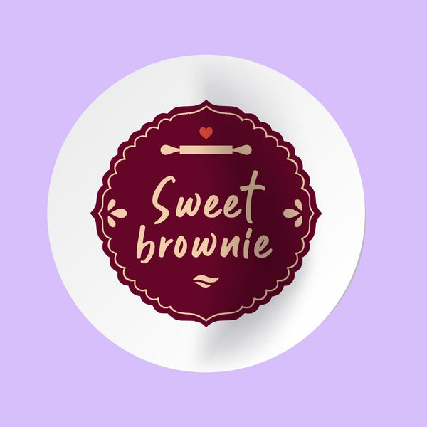 Stickers Sweet Brownie Personalizados