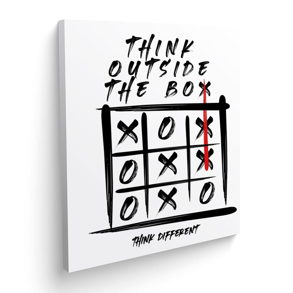 Cuadro Canvas Think Outside the Box