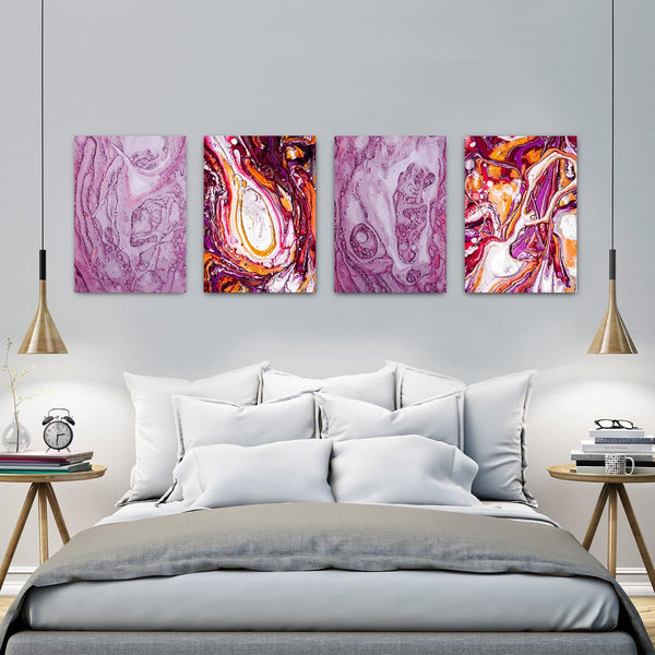 Set Canvas Purple Experience HD