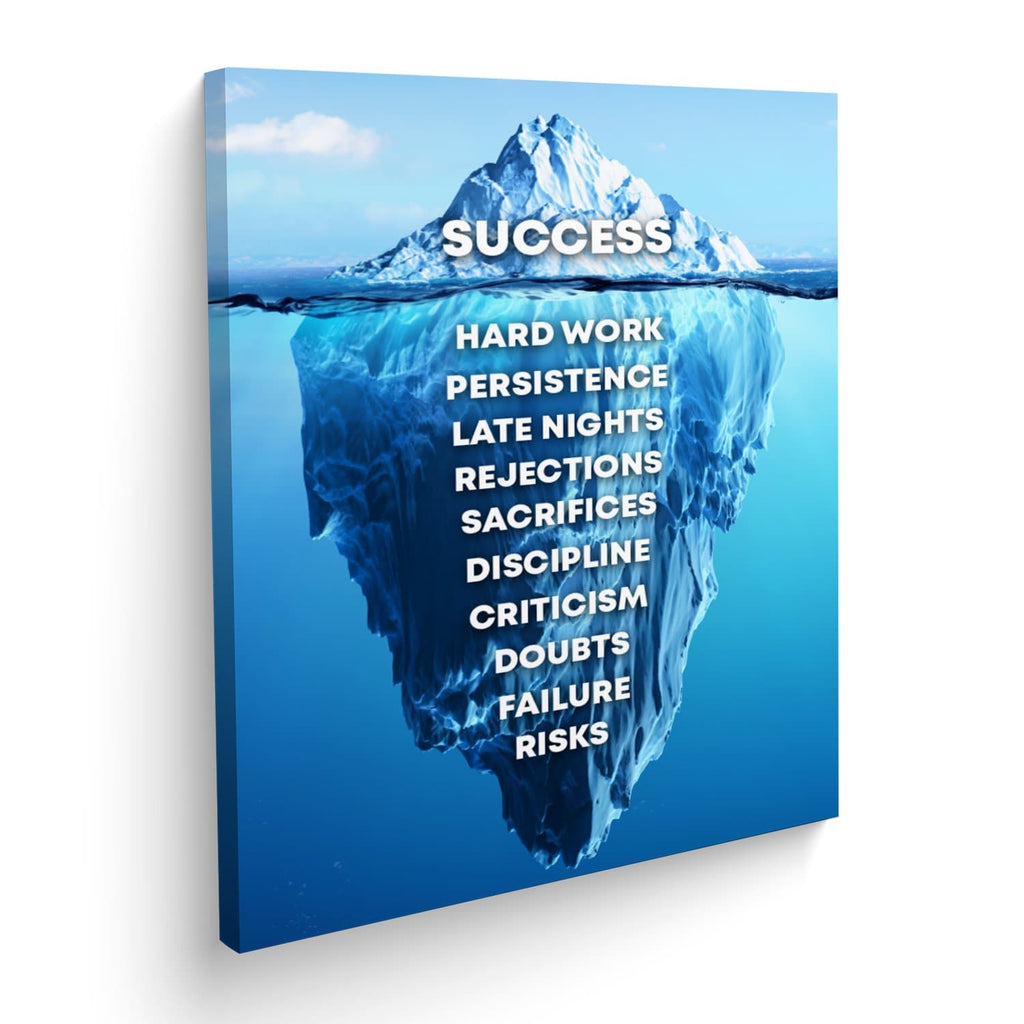 Cuadro Canvas Iceberg Success