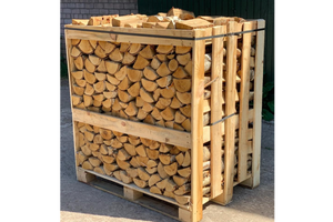 HARDWOOD MEDIUM CRATE- BIRCH