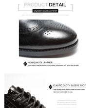 Load image into Gallery viewer, Men Leather Shoes