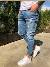 Load image into Gallery viewer, Mens Ripped Jeans