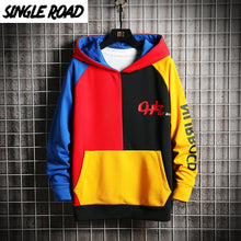 Load image into Gallery viewer, Men Hoodies SingleRoad