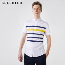 Load image into Gallery viewer, Men Striped Slim Fit Shirt