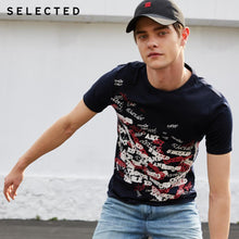 Load image into Gallery viewer, SELECTED Men's  Cotton T-shirt