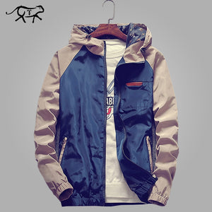 Mens Hooded Windbreaker
