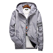 Load image into Gallery viewer, DIMUSI Men's Windbreaker