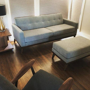 Jackson Sofa (No Ottoman) in Derby Grey - sofacreations