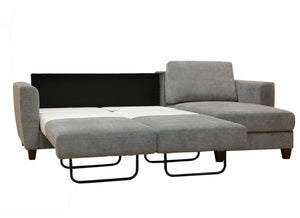 Flex Full Size Loveseat Chaise Sleeper Luonto Furniture - sofacreations
