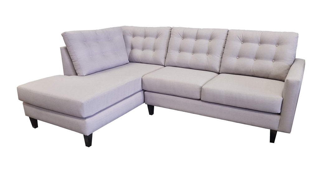 London Bumper Chaise Sectional - sofacreations