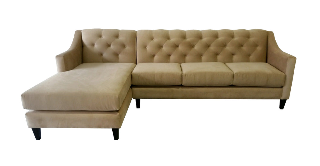 Victoria Chaise Sectional - sofacreations