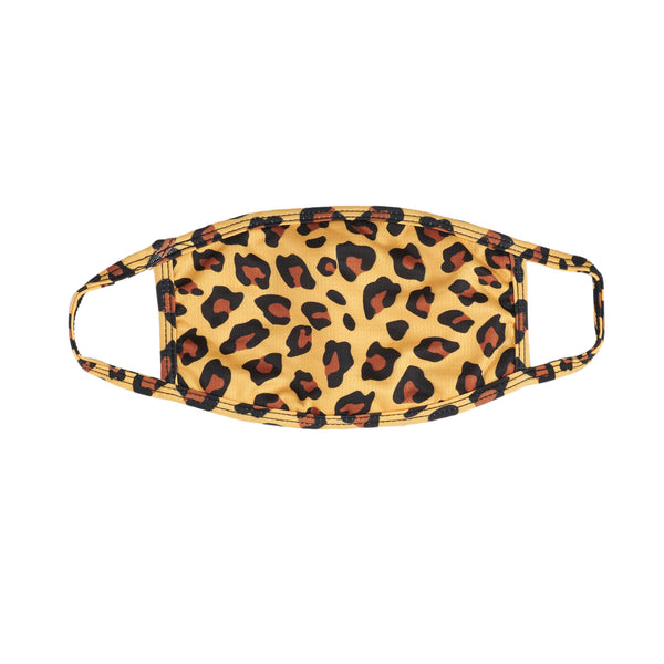 3 Pack Leopard Face Mask