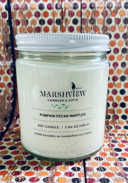 Pumpkin Pecan Waffles, Pumpkin Scented Candles, Fall Scented Candles, Fall Home Fragrances, Candle Centerpieces, Hostess Gifts,