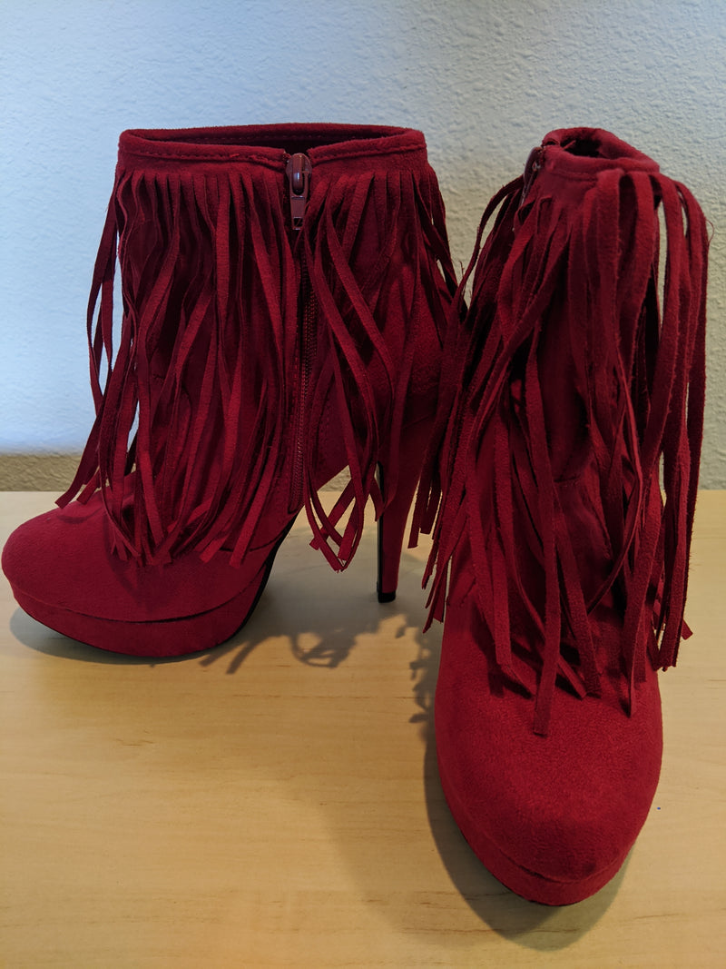 Shoe Dazzle - Size 7.5 - Red