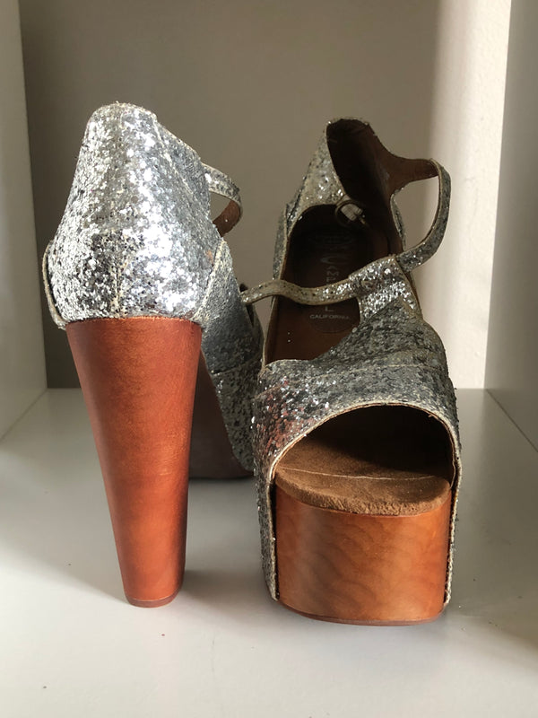 Jeffrey Campell - Size 10 - Silver