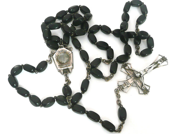 Vintage French Lourdes Rosary