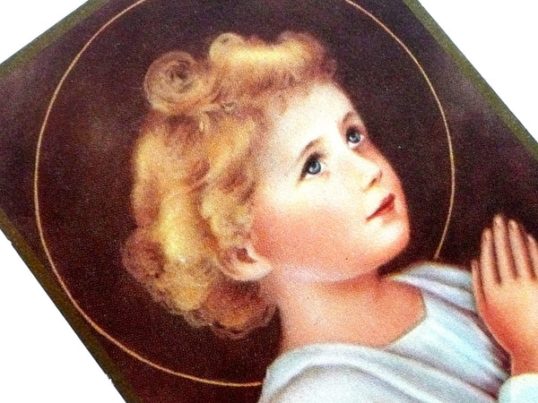 Vintage Child Jesus Holy Card
