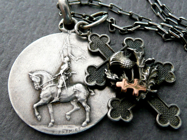 Saint Joan Necklace