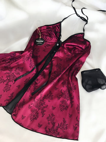 Alisa Night Dress Set