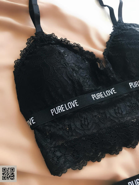 Vanessa Bralet Set Black