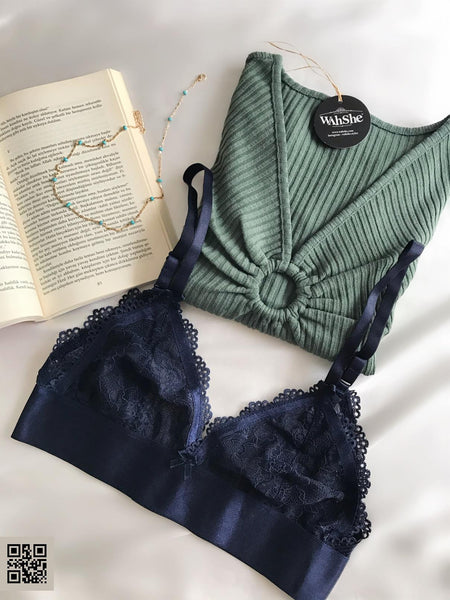 Liza Blue Night Bralet