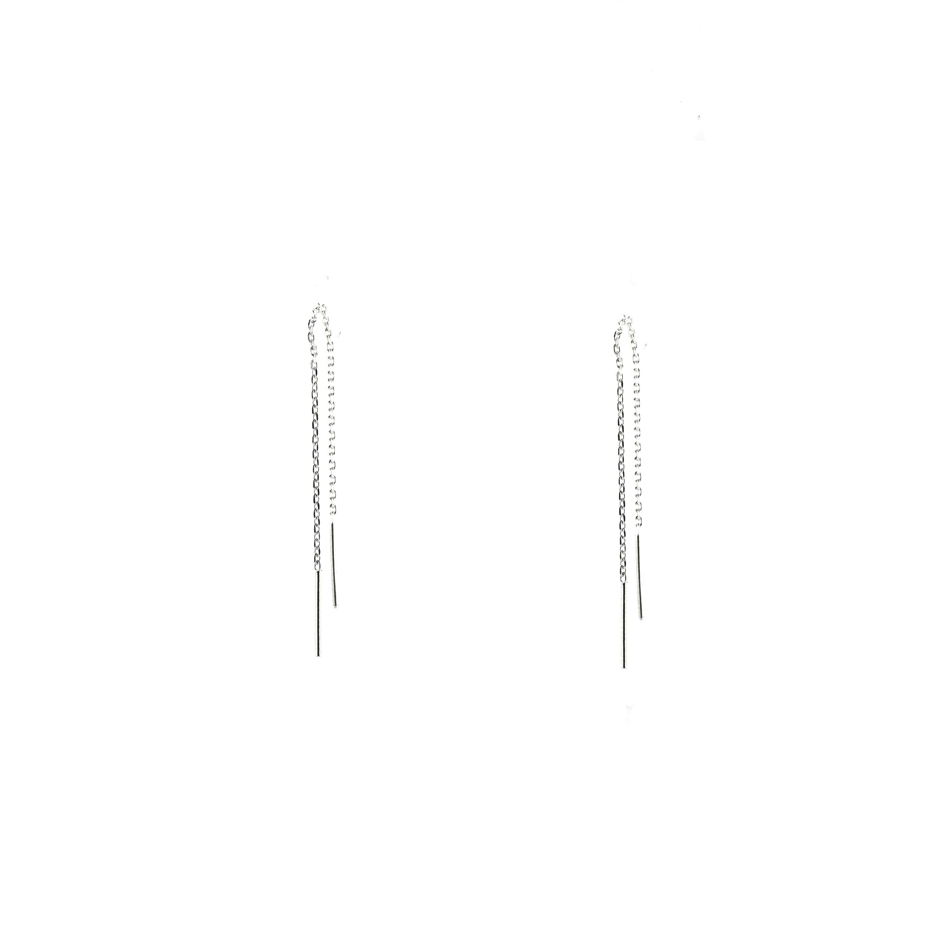 Bar Threads Earring