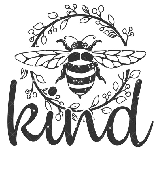 Bee Kind Ready To Press Sublimation Transfer