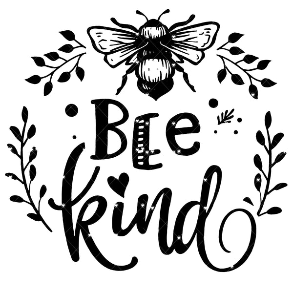 Bee Kind 2 Ready To Press Sublimation Transfer