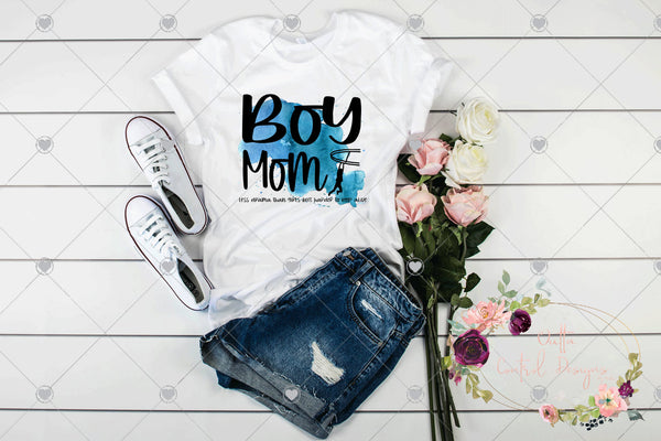 Boy Mom Less Drama But Harder To Keep Alive