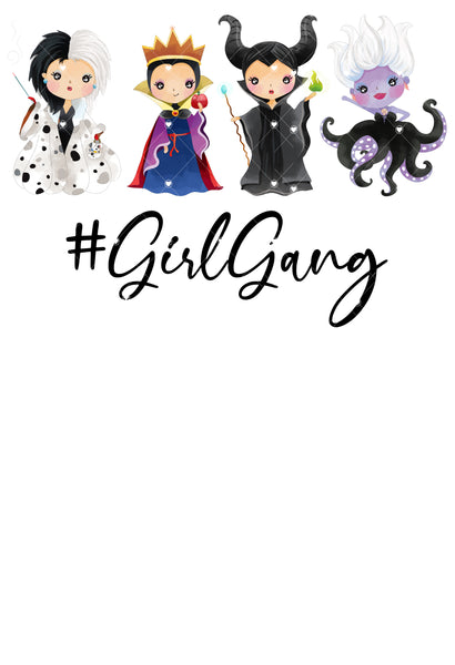 Girl Gang Ready To Press Sublimation Transfer