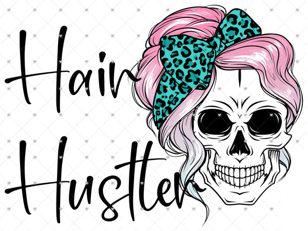 Hair Hustler Ready To Press Sublimation Transfer