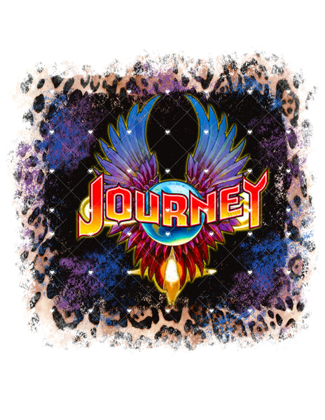 Journey Ready To Press Sublimation Transfer