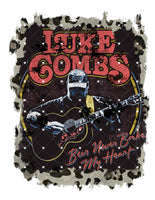 Luke Combs 2 Ready To Press Sublimation Transfer