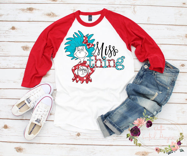 Miss Thing Dr Seuss ADULT