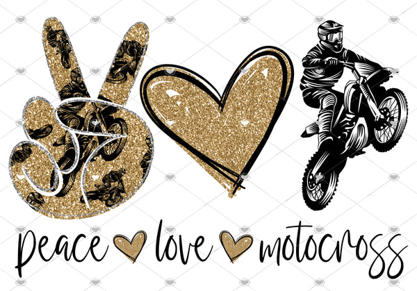 Peace Love Motocross